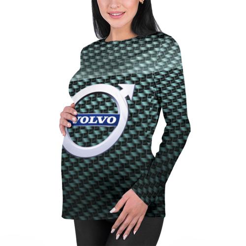 Женский лонгслив 3D для беременных  Фото 01, Volvo SPORT