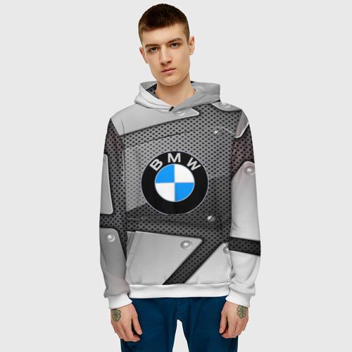 Мужская толстовка 3D  Фото 03, BMW metalic 2018