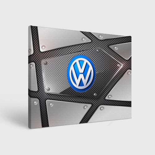 Холст прямоугольный  Фото 01, Volkswagen metalic 2018