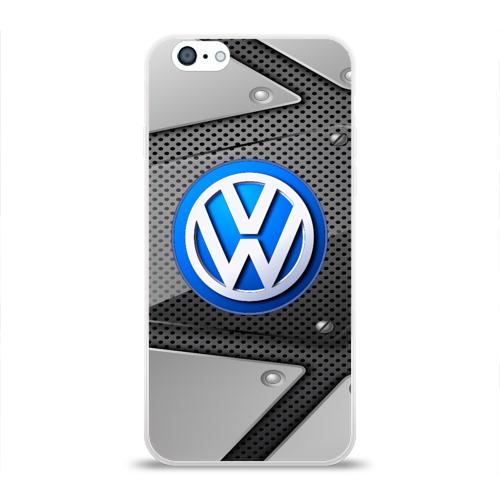 Чехол для Apple iPhone 6 силиконовый глянцевый  Фото 01, Volkswagen metalic 2018