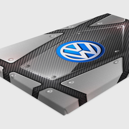 Холст прямоугольный  Фото 04, Volkswagen metalic 2018