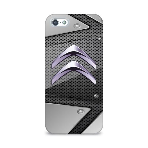 Чехол для Apple iPhone 5/5S 3D  Фото 01, Citroen metalic 2018