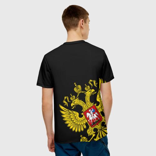 Мужская футболка 3D  Фото 02, Флаг и Герб  России