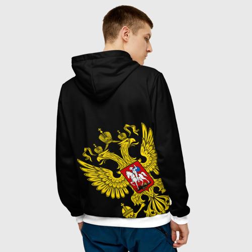 Мужская толстовка 3D  Фото 04, Флаг и Герб  России