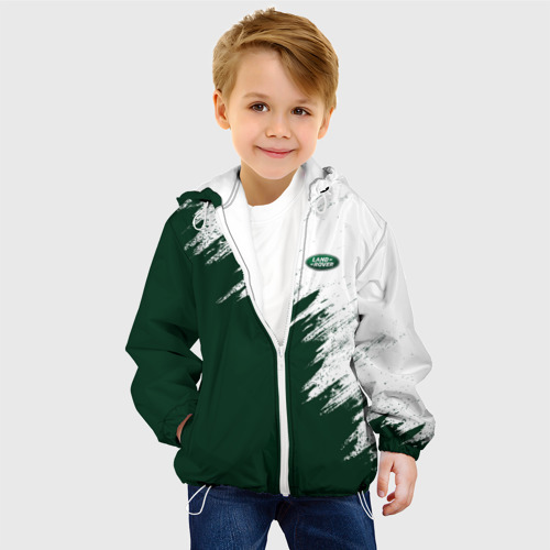 Детская куртка 3D  Фото 03, Land Rover