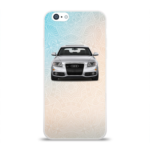 Чехол для Apple iPhone 6 силиконовый глянцевый  Фото 01, Audi rs4