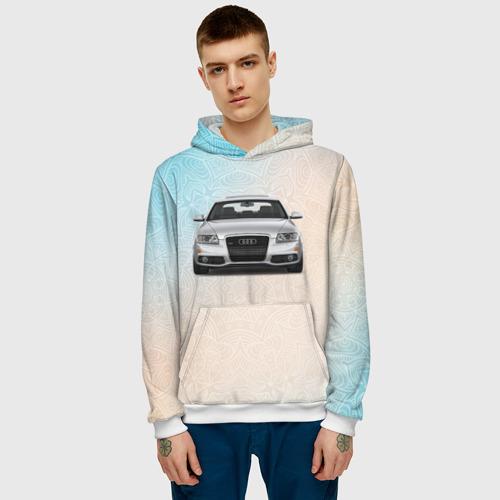 Мужская толстовка 3D  Фото 03, Audi rs4