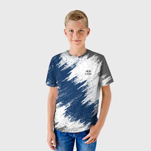 Детская футболка 3D  Фото 01, LADA