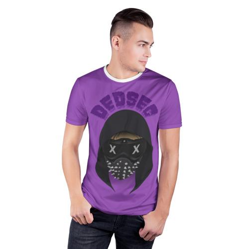 Мужская футболка 3D спортивная Watch Dogs DedSec Фото 01
