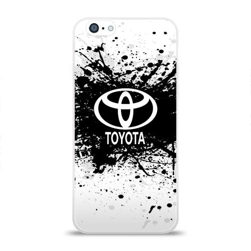 Чехол для Apple iPhone 6 силиконовый глянцевый  Фото 01, Toyota