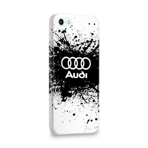 Чехол для Apple iPhone 5/5S 3D  Фото 02, Audi