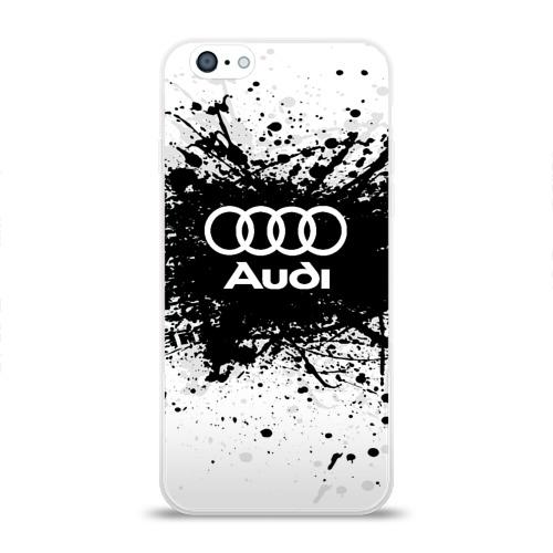 Чехол для Apple iPhone 6 силиконовый глянцевый  Фото 01, Audi