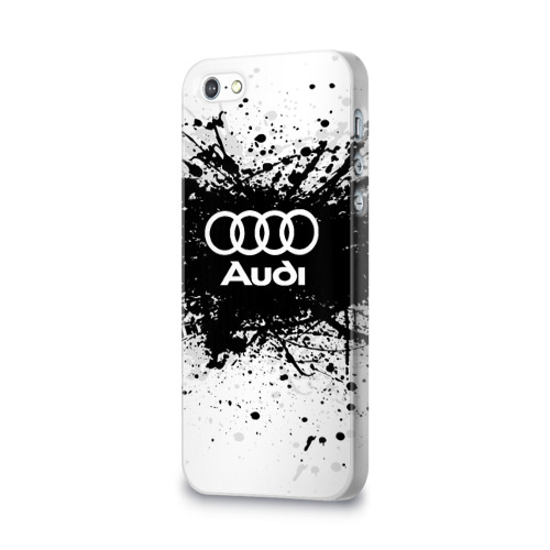 Чехол для Apple iPhone 5/5S 3D  Фото 03, Audi