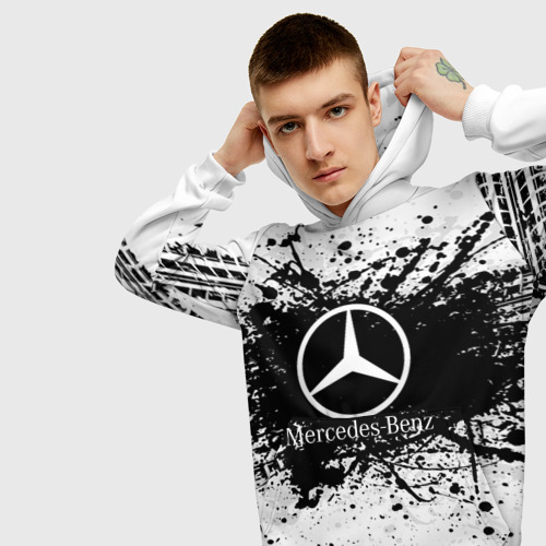 Мужская толстовка 3D  Фото 01, Mercedes-Benz