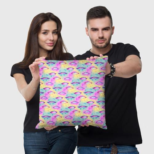 Подушка 3D Влажные глазки Фото 01