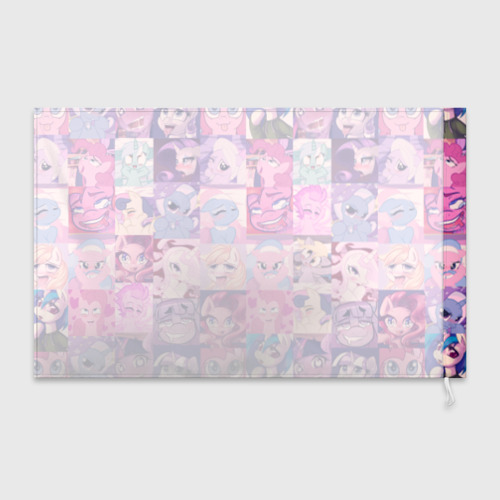 Флаг 3D My Little Pony Ahegao Фото 01