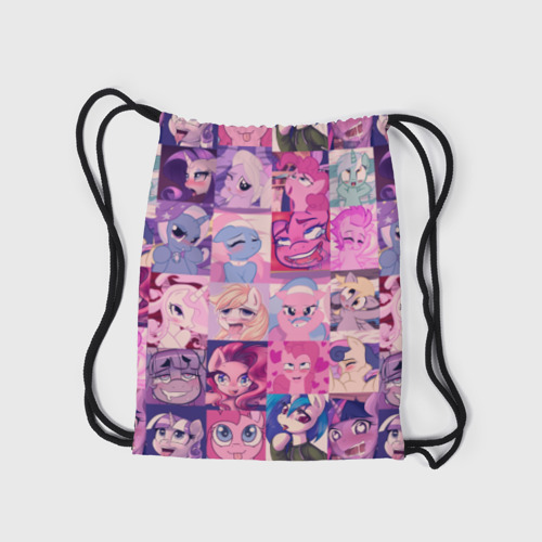 Рюкзак-мешок 3D My Little Pony Ahegao Фото 01