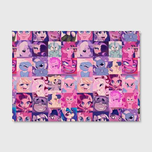 Холст прямоугольный My Little Pony Ahegao Фото 01