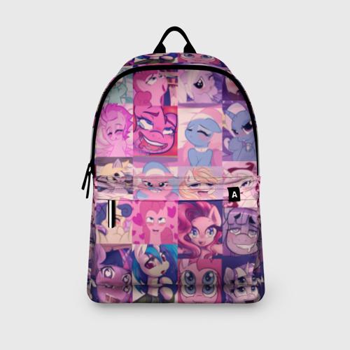Рюкзак 3D My Little Pony Ahegao Фото 01