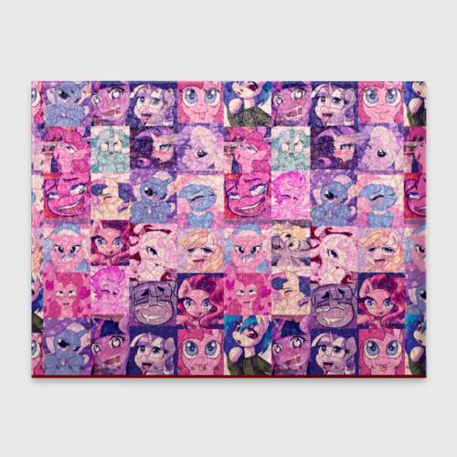 Обложка для студенческого билета My Little Pony Ahegao Фото 01