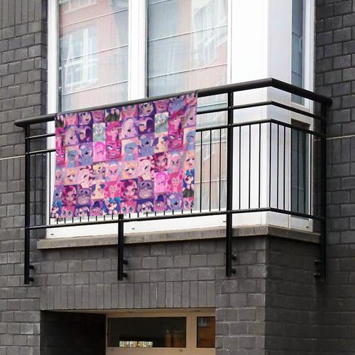 Флаг-баннер My Little Pony Ahegao Фото 01