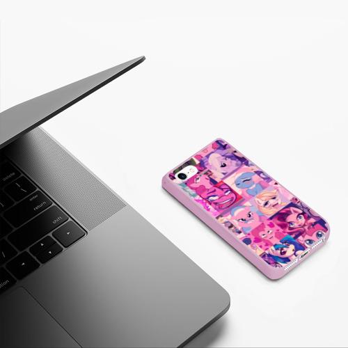 Чехол для iPhone 5/5S матовый My Little Pony Ahegao Фото 01
