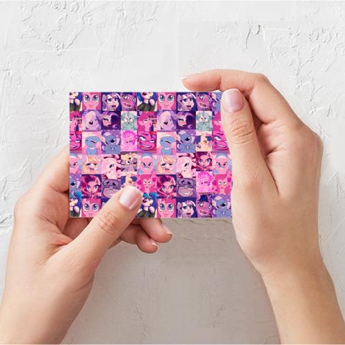 Поздравительная открытка My Little Pony Ahegao Фото 01