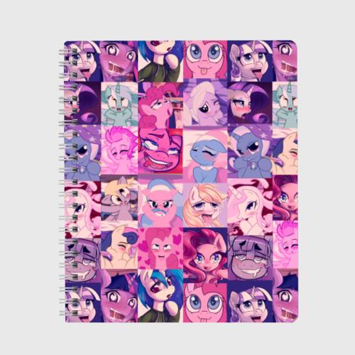 Тетрадь My Little Pony Ahegao Фото 01