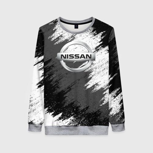Женский свитшот 3D Nissan Фото 01
