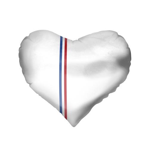 Подушка 3D сердце  Фото 02, Нидерланды, лента с гербом