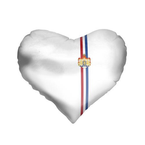 Подушка 3D сердце  Фото 01, Нидерланды, лента с гербом