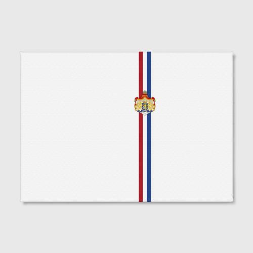 Холст прямоугольный  Фото 02, Нидерланды, лента с гербом
