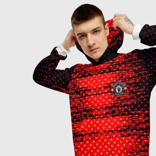 Мужская толстовка 3D  Фото 01, Manchester sport uniform