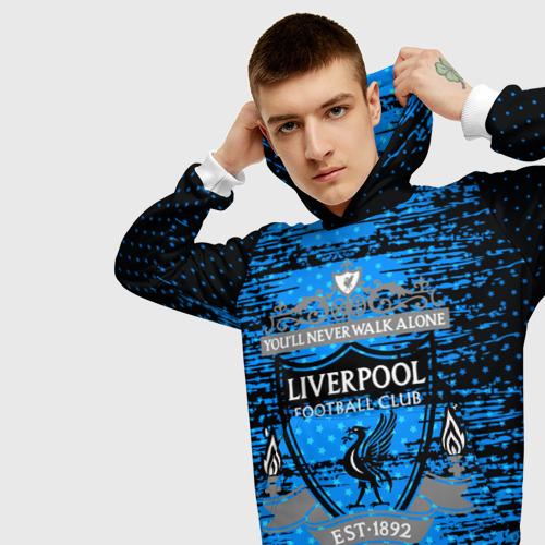 Мужская толстовка 3D  Фото 01, Liverpool sport uniform