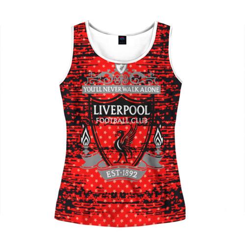 Женская майка 3D  Фото 01, Liverpool sport uniform