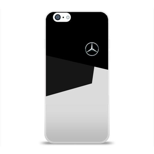 Чехол для Apple iPhone 6 силиконовый глянцевый  Фото 01, MERCEDES BENZ SPORT