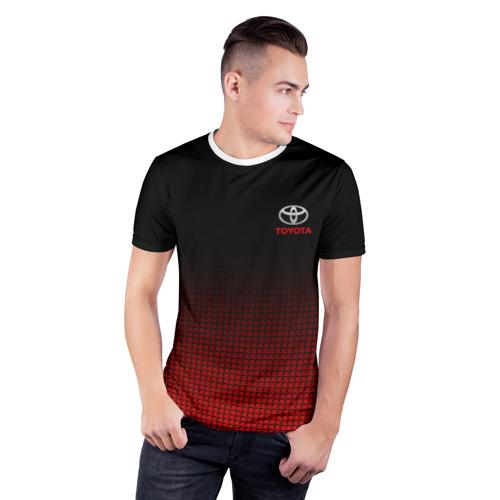 Мужская футболка 3D спортивная  Фото 03, TOYOTA SPORT