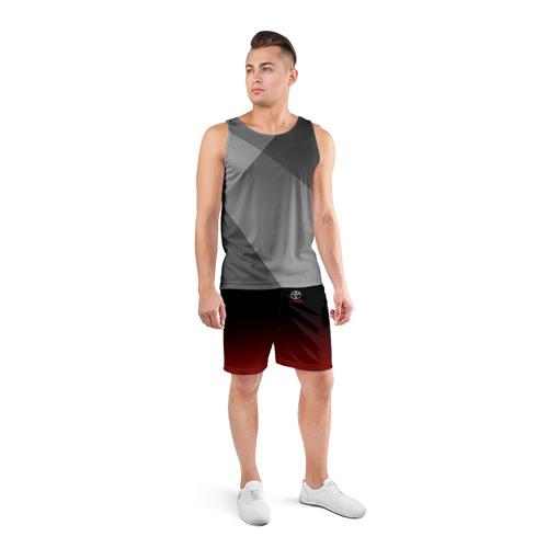 Мужские шорты 3D спортивные  Фото 04, TOYOTA SPORT