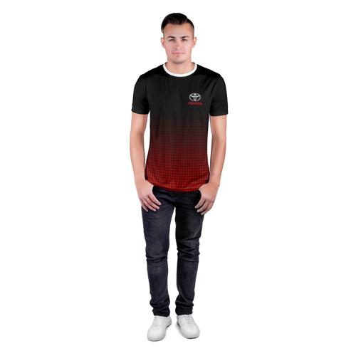 Мужская футболка 3D спортивная  Фото 04, TOYOTA SPORT