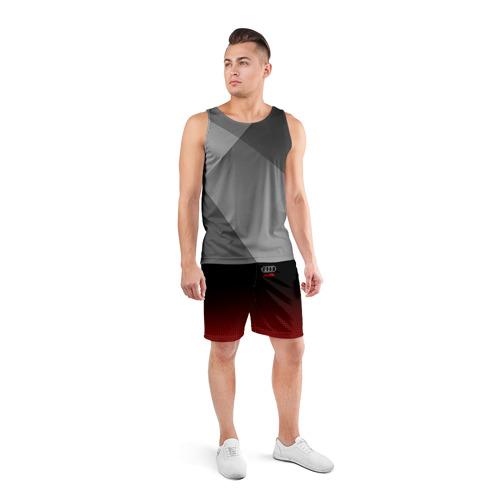 Мужские шорты 3D спортивные  Фото 04, AUDI  SPORT