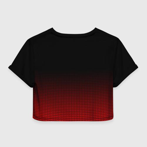 Женская футболка 3D укороченная  Фото 02, JDM SPORT