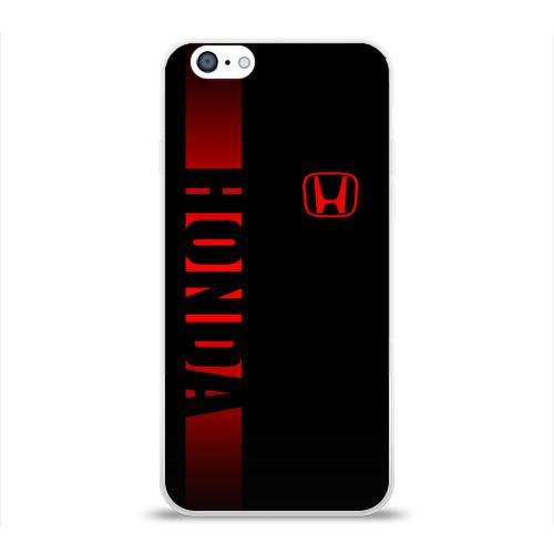 Чехол для Apple iPhone 6 силиконовый глянцевый  Фото 01, HONDA SPORT