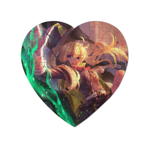 Пазл магнитный сердце 75 элементов Sweet face