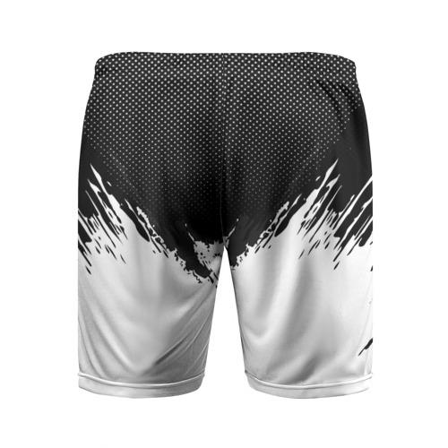 Мужские шорты 3D спортивные  Фото 02, Real Madrid black 2018