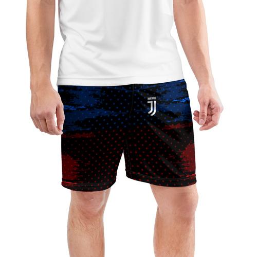 Мужские шорты 3D спортивные  Фото 03, Juventus abstract collection