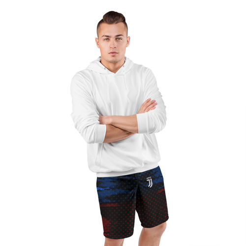 Мужские шорты 3D спортивные  Фото 05, Juventus abstract collection