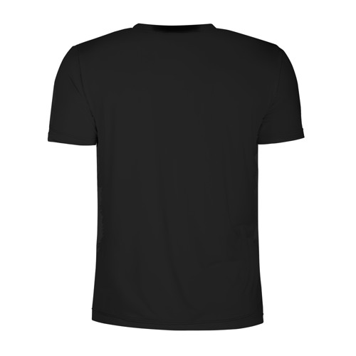 Мужская футболка 3D спортивная Train hard Фото 01