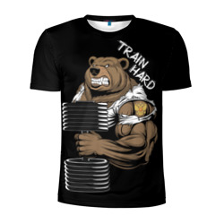 Train hard - интернет магазин Futbolkaa.ru