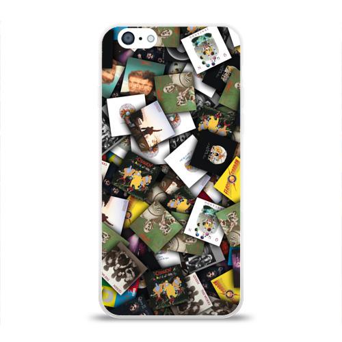 Чехол для Apple iPhone 6 силиконовый глянцевый  Фото 01, Queen. Дискография