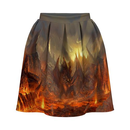 Юбка-солнце 3D  Фото 01, Fire Dragon